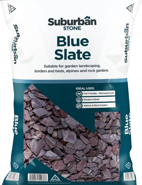 Blue Slate Chippings 20 or 40mm