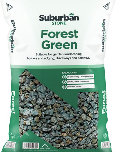 Forest Green Granite Chippings 20mm