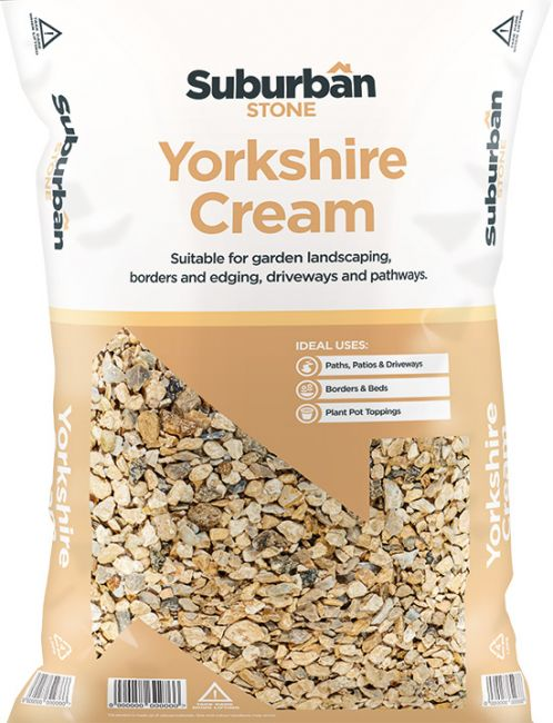 Yorkshire Cream Chippings 20mm